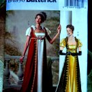 Butterick Pattern # 4890 UNCUT Misses Costume Empire Bodice Size 6 8 10 12