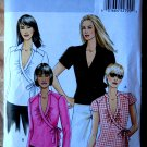 Butterick Pattern # 5328 UNCUT Misses Wrap Top Variations Size 8 10 12 14