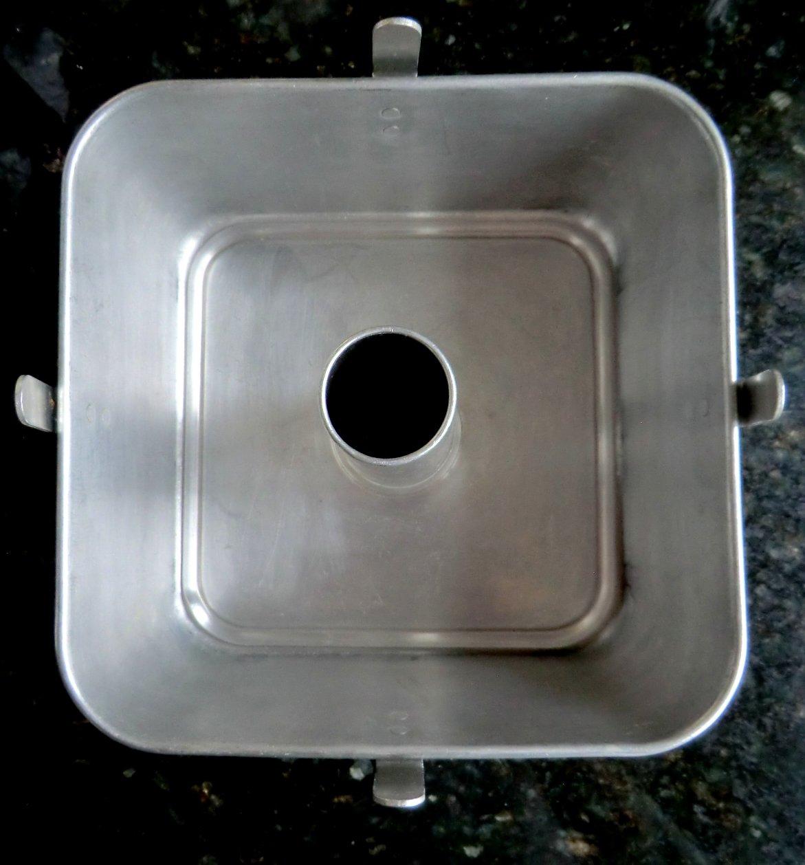 Square Angel Food Cake Pan