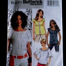 Butterick Pattern # 4685 UNCUT Misses Blouse Size 8 10 12 14