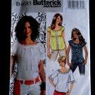 Butterick Pattern # 4685 UNCUT Misses Blouse Size 8 10 12 14