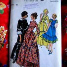 Butterick Pattern # 4585 UNCUT Misses Frontier Costume Size 10 ONLY