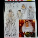 Burda Pattern # 5038 UNCUT Misses Bridal Veils 5 Length Variations All Sizes