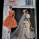 Budra Pattern # 4285 UNCUT Misses Bridal Gown Formal Special Occasion Dress Size 10 12 14 16 18 20