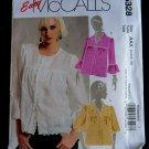 McCalls Pattern # 5328 UNCUT Misses Unlined Jacket Size 4 6 8 10