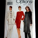 Vogue Easy Pattern # 8867 UNCUT Misses Dress or Tunic Pants Size 14 16 18