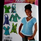 Simplicity Pattern # 4163 UNCUT Girls Top Variations Halter Size 8 10 12 14 16