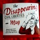 Vanishing Bill Of Rights Ceramic Coffee Mug United States Constitution