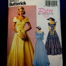 Butterick Pattern # 6022 UNCUT Retro Misses Gown Wedding Dress Size 14 16 18 20 22 Circa 1952