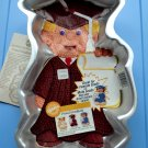 Vintage 1995 WILTON GRADUATION CAKE PAN # 2105-1800 Graduate