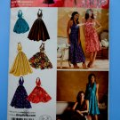 Simplicity Pattern # 0641 UNCUT Misses Hollywood Halter Dress Variations Size 6 8 10 12 14