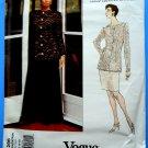 Vogue Pattern # 1286 UNCUT Misses Top Skirt  Pants Special Occasion Size 12 14 16