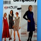 Simplicity Pattern # 7757 UNCUT Misses Jumper Size 12 14 16