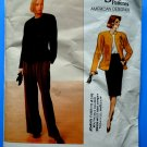 Vogue Pattern # 2355 UNCUT Misses Jacket Pants Skirt Size 12 14 16 Anne Klein
