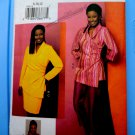 Vogue Pattern # 7740 UNCUT Misses Top Skirt Pants Size 8 10 12