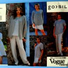 Vogue Pattern # 1545 UNCUT Misses Wardrobe Jacket Dress Top Skirt Pants Size 12 14 16