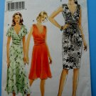Vogue Pattern # 8182 UNCUT Misses Dress Variations Size 6 8 10