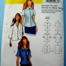 Butterick Pattern # 5300 UNCUT Misses Blouse Size XXL 1X 2X 3X 4X 5X 6X Ready to Wear Sizing