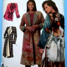 Simplicity Pattern # 4657 UNCUT Misses Lined Coat Jacket Fleece Size Medium Large XL