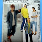McCalls Pattern # 2685 UNCUT Misses Top Jacket Pants Size 18 20 22 24