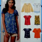 New Look Pattern # 6891 UNCUT Misses Summer Top Variations Size 10 12 14 16 18 20 22