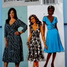 Butterick Pattern # 5001 UNCUT Misses Flared Pullover Dress STRETCH KNITS ONLY Size 18 20 22 24