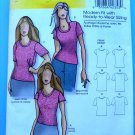 Butterick Pattern # 5215 UNCUT Woman's T-Shirt STRETCH KNITS Size XXL 1X 2X 3X 4X 5X 6X