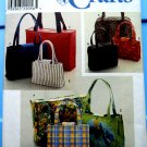 Simplicity Pattern # 8331 UNCUT Handbags Totes 3 Sizes