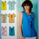 Simplicity Pattern # 1886 UNCUT Misses Blouse/Top Variations Size 14 16 18 20 22
