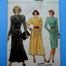 Vogue Pattern # 9733 UNCUT Misses Dress Size 10 ONLY