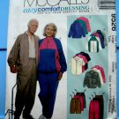 McCalls Pattern # 9526 UNCUT Mens Misses Unisex Jacket Pull-on Pants Size Medium or Large
