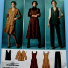 Simplicity Pattern # 2539 UNCUT Misses Misses Jumper , Pants and Jacket or Vest. Size 10 12 14 16 18