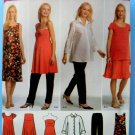 Simplicity Pattern # 4704 UNCUT Maternity Wardrobe Dress Shirt Top Pants Size 14 16 18 20 22