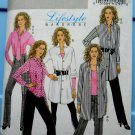 Butterick Pattern # 5102 UNCUT Misses Shirt (Long /Short) Pants Tie Size 16 18 20 22 24