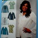 Simplicity Pattern # 3789 UNCUT Misses Blouse/Shirt Size 14 16 18 20 22