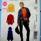 McCalls Pattern # MP 491 UNCUT Misses Unlined Jackets Vest STRETCH KNITS ONLY Size XS Small Medium