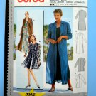 Burda Pattern # 2948 UNCUT Misses Jacket / Coat /Duster Size 10 12 14 16 18 20