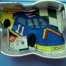 WILTON Cake Pan RACE CAR NASCAR #2105-1350 Car Number 11