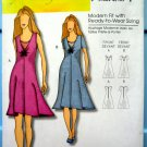 Butterick Pattern # 5193 UNCUT Misses Dress Size XXL 1X 2X 3X 4X 5X 6X