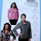 Butterick Pattern # 5720 UNCUT Misses Woman's Jacket Size XXL 1X 2X 3X 4X 5X 6X