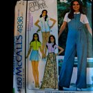 McCalls Pattern # 4936 UNCUT Misses Jumpsuit Skirt Size 10 ONLY Stretch Knits ONLY Bust 32 ½
