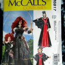 McCalls Pattern # 6817 UNCUT Misses Costume Dress Size Small Medium Large XL
