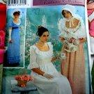 Simplicity Pattern #9225 UNCUT Costume Jane Austen Regency Style Size 6 8 10 12