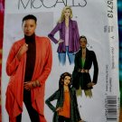 McCalls Pattern # 5713 UNCUT Misses Jacket Length Variations Size XS Small Medium