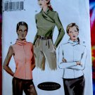 Vogue Pattern # 7799 UNCUT Misses Blouse / Top STRETCH KNITS Size 18 20 22