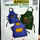 Pletsch Pattern UNCUT Kids Adult Apron Small Medium Large