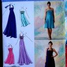 Simplicity Pattern # 2398 UNCUT Misses Special Occasion Halter Dress Size 12 14 16 18 20