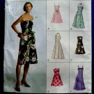 Vogue Pattern # 7848 UNCUT Misses Summer Dress Size 6 8 10