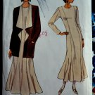 Vogue Pattern # 8722 UNCUT Misses Dress Jacket Size 18 20 22