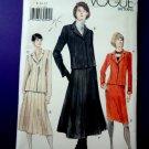 Vogue Pattern #7152 UNCUT Misses Jacket Skirt Variations Size 8 10 12